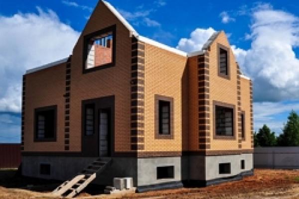 1.строительство домов из кирпича
