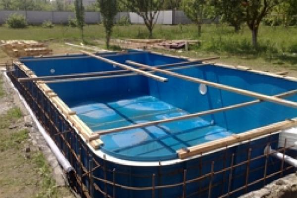 17.Установка бассейнов