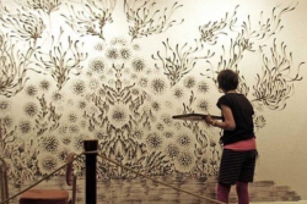 5.рисование на стенах.