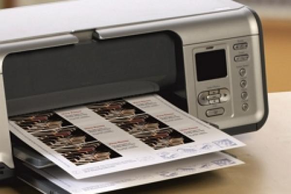 7.Печать визиток